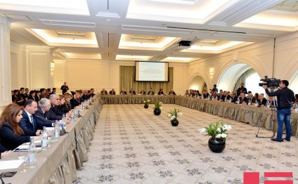 "Baku hosts conference on ""Lies and tragedies of the 100 years from the so-called Armenian genocide of 1915 till the Khojaly tragedy"""