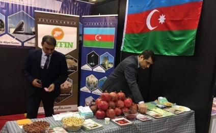 Azərbaycan məhsulları Seulda nümayiş etdirilib- fotolar