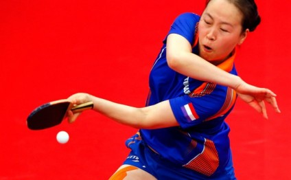 Li Jiao wins all-Dutch duel for table tennis gold