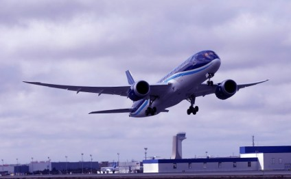 Azerbaijan Airlines launches Boeing 787-8 Dreamliner on Baku-New York-Baku route