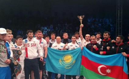 Azerbaijani fighter claims gold medal at World MMA Championship