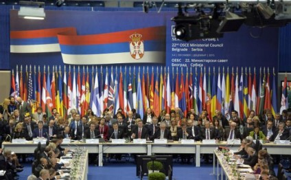 OSCE Ministerial Council starts in Belgrade