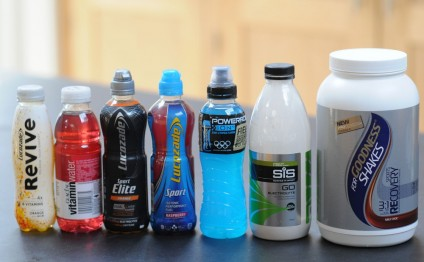 Sugar and water 'as good as a sports drink'