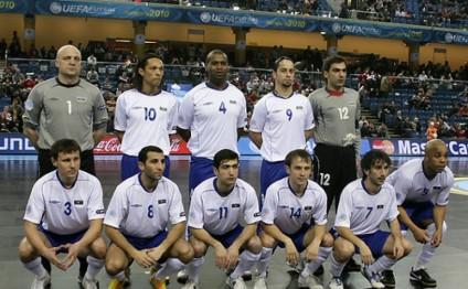 Azerbaijan remain 13th in Futsal World Ranking
