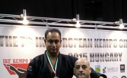 Azerbaijani kempo fighters claim 3 medals at European Championships