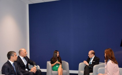 Leyla Aliyeva meets with Deputy Executive Secretary of UN Framework Convention on Climate Change