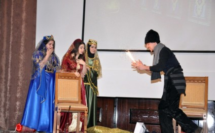 Azerbaijan University of Languages hosts event marking Christmas