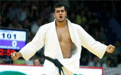 Azerbaijan`s Gasimov grabs bronze medal at Grand Slam Tokyo tournament