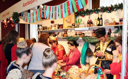 Azerbaijan's Embassy in Lithuania joins International Christmas Charity Fair