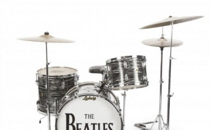 Ringo Starr drum kit fetches $2.2 million at auction