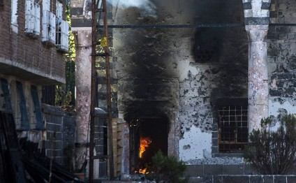 PKK burns oldest Ottoman era mosque in southeast Turkey