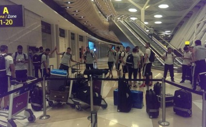 FC Qarabag leave for Belgium