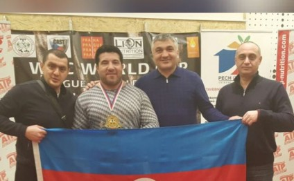 Azerbaijani powerlifter clinches world title