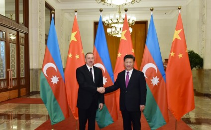 Official welcoming ceremony for President Ilham Aliyev was held in Beijing