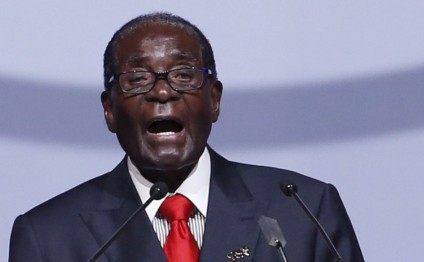 Zimbabwe's President again reads out wrong speech