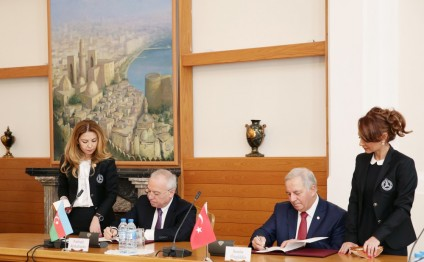 Azerbaijan`s Constitutional Court, Turkish Court of Jurisdictional Disputes sign protocol on cooperation