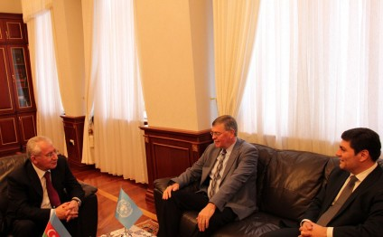 Azerbaijan`s Minister of Agriculture meets UN`s resident coordinator