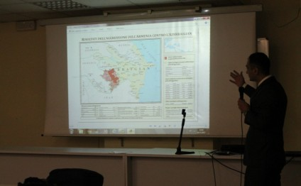 Italian students informed about Nagorno-Karabakh conflict