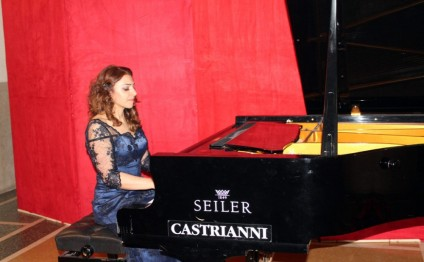 Azerbaijani, Lithuanian musicians give concert in Rome