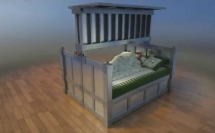 Earthquake Survival 2015: Amazing anti-earthquake bed that protects you while you're sleeping