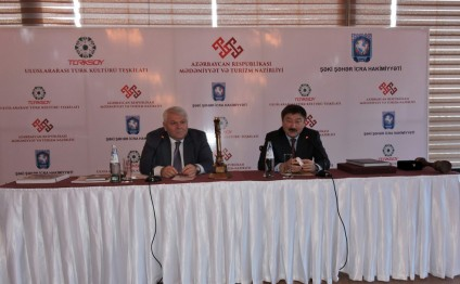 "Press conference dedicated to ""Sheki - capital of Turkic world in 2016"" held"