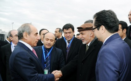 Afghan President embarks on official visit to Azerbaijan