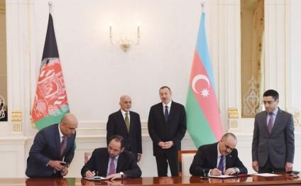 Azerbaijani-Afghan documents were signed