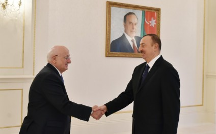 President Ilham Aliyev received a delegation led by the Speaker of the Grand National Assembly of Turkey
