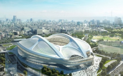 Japan picks new design for Olympic stadium in Tokyo