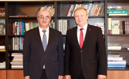 Ambassador of Belarus visits Baku Slavic University