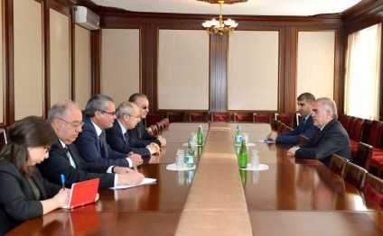 Chairman of Supreme Assembly of Nakhchivan meets Governors of Qars, Erdahan and Igdir