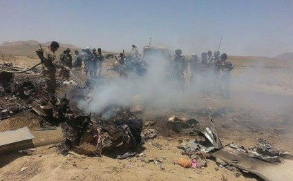 Helicopter crash kills three Afghan air crew