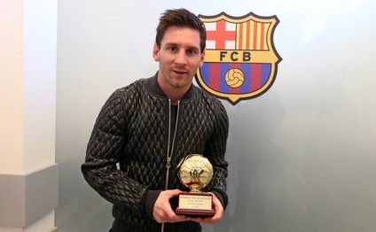 Lionel Messi named best playmaker by Football Historians