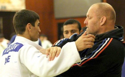 Azerbaijani judo team train in Brazil