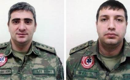 Two servicemen of Azerbaijani peacekeeping mission in Afghanistan awarded