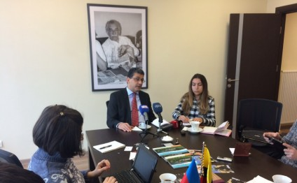 Colombian Charge d'Affaires hails opportunities for developing relations with Azerbaijan