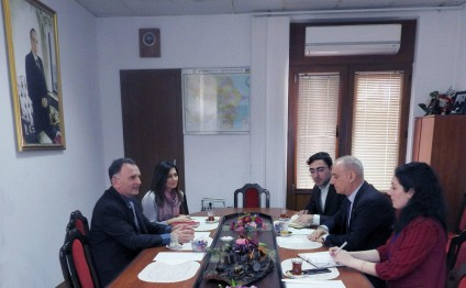 Dan Stav: Embassy is ready to contribute to development of AZERTAC`s relations with Israeli media
