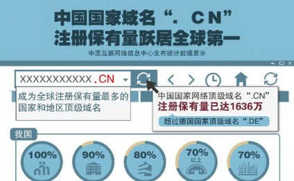 China domain '.cn' becomes world's largest