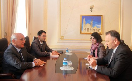 Chairman of State Committee for Work with Religious Organizations meets Israeli Ambassador