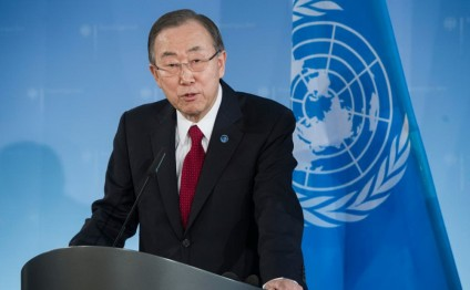 UN must get 'priorities right' in 2016, Ban tells Member States