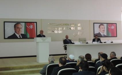 Multikulturalizm və tolerantlıq Azərbaycanda dövlət siyasəti səviyyəsinə qaldırılıb