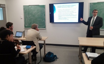 Canadian students informed of Nagorno-Karabakh conflict