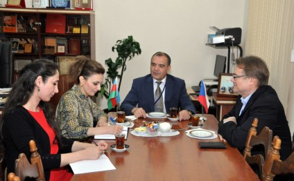 Azerbaijani, Czech national libraries discuss cooperation prospects