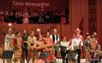 Gala concert of TURKSOY orchestra held in Bishkek