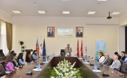 """Connecting to Alternative Future"" project at Baku Higher Oil School completed"