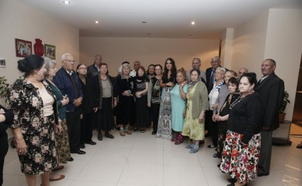 Leyla Aliyeva visits nursing home for war and labor disabled in Bilgah