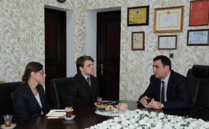 Representatives of Polish Ministry of Science visit Azerbaijan State University of Oil and Industry