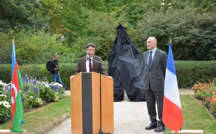 Monument to Mahsati Ganjavi unveiled in French city of Cognac