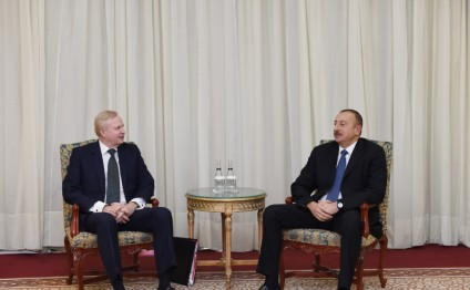 President Ilham Aliyev met with BP Chief Executive Officer in Istanbul