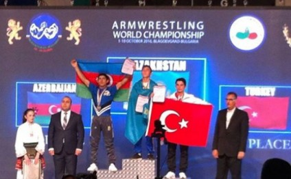 Azerbaijani arm wrestlers win 10 world medals